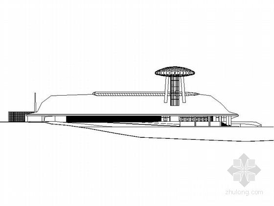 [合集]3套多层现代风格博物馆建筑施工图