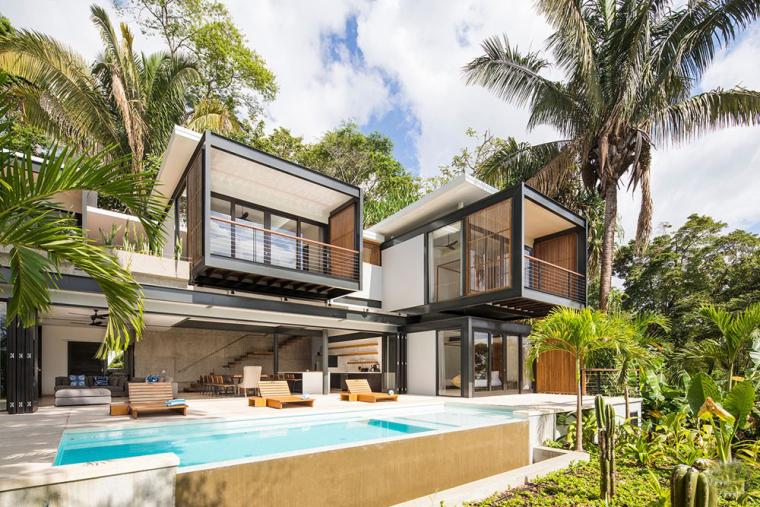 热带雨林的Joya别墅酒店案例(哥斯达黎加)