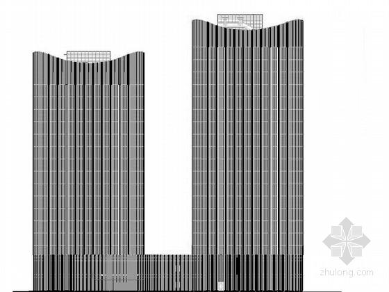 [合集]3套超精品高层商业综合体建筑施工图(含效果图、su)