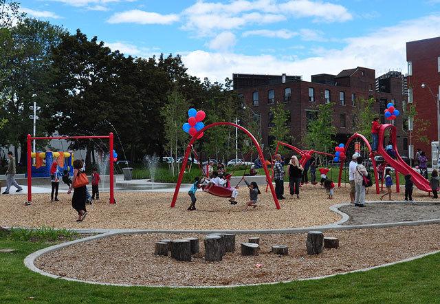 加拿大多伦多JoelWeeks公园景观设计_7