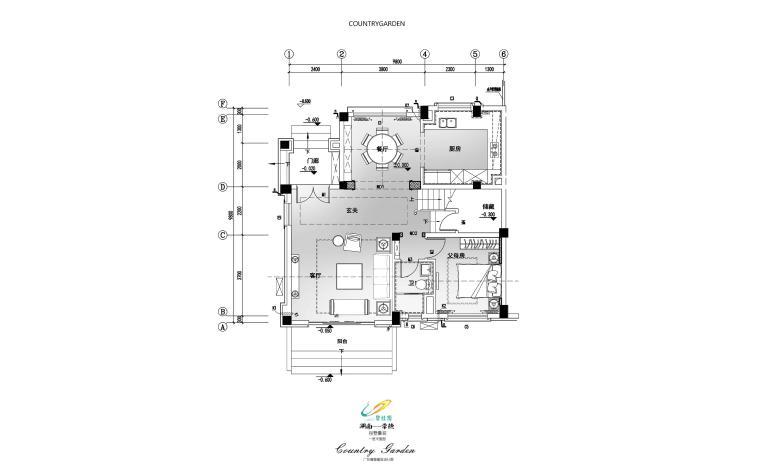 [湖南]常德知名地产豪装别墅-现代欧式概念方案文本