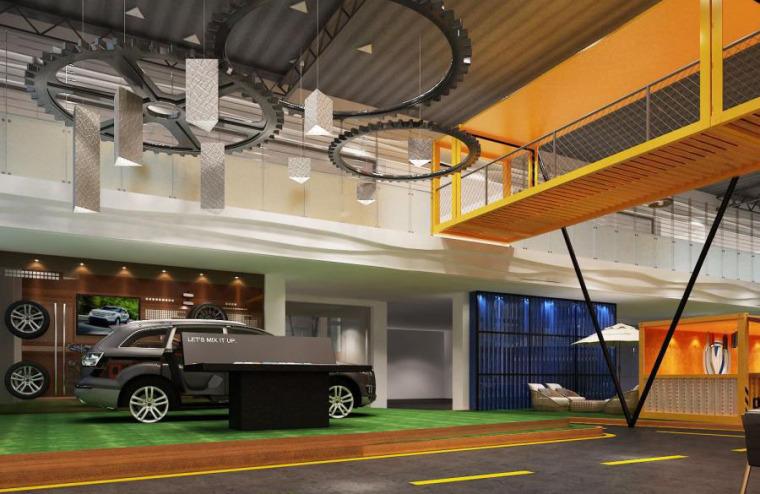 (原创)汽车4S店室内设计案例效果图-汽车4S店 (17)