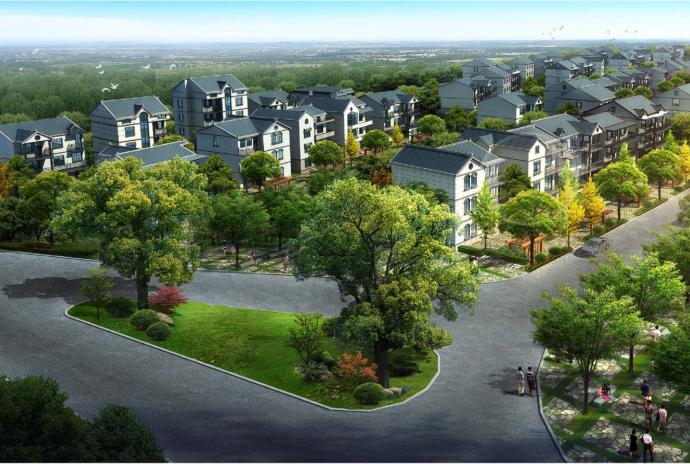[浙江]富阳城市绿心新沙岛风情小镇规划设计