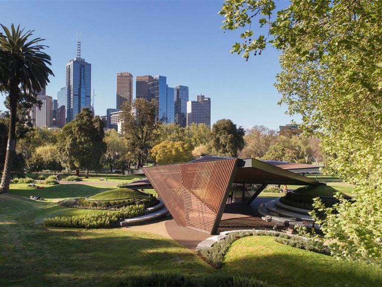 澳大利亚折纸式的M亭子