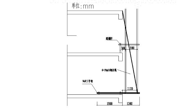 广州高层住宅小区悬挑脚手架施工方案