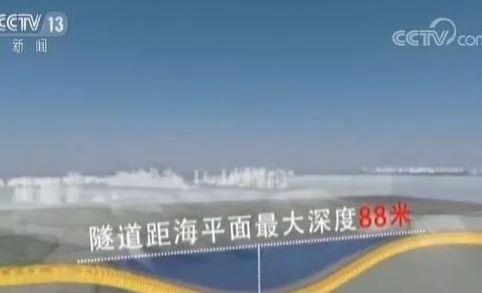 海底88米!中国最深海底隧道:青岛地铁1号线海底隧道贯通