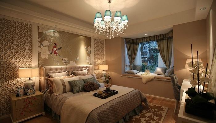 活力色彩家居搭配设计,以暖色为主的家居样板房全套图片