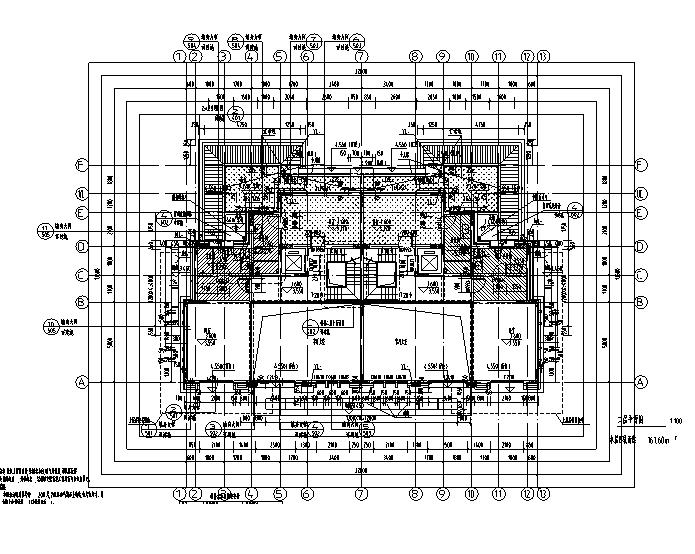 [知名地产]17栋联排式及独栋别墅建筑施工图合集-[合集]17栋知名地产联排式及独栋别施工图(16年含结构专业)_7