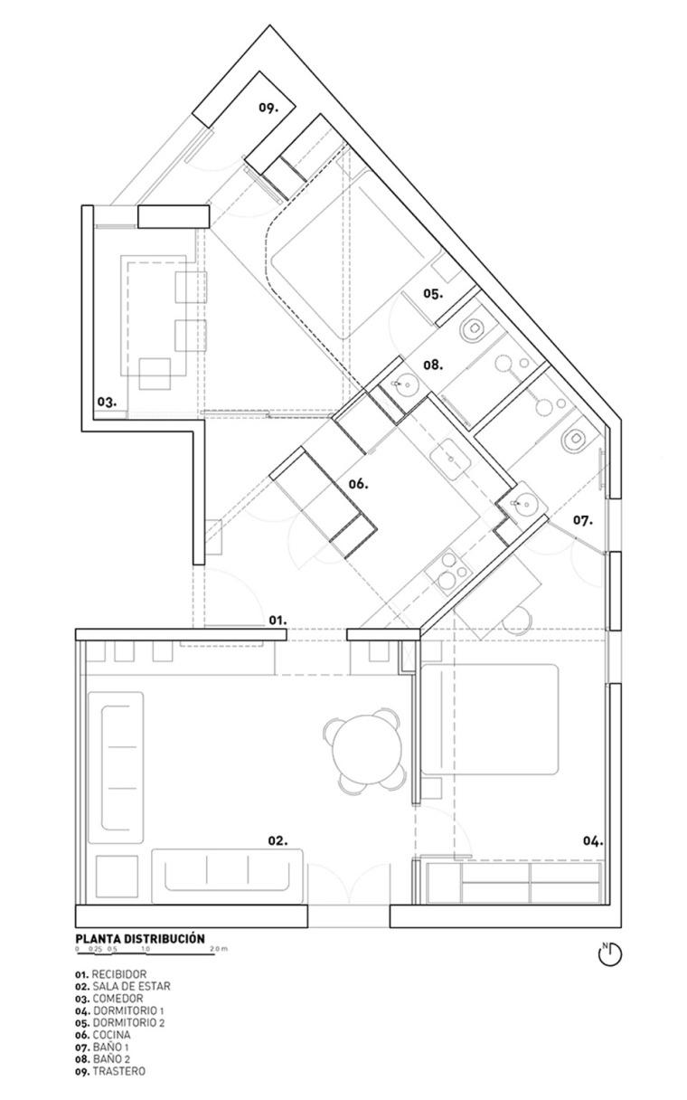 西班牙Parlament19公寓-17