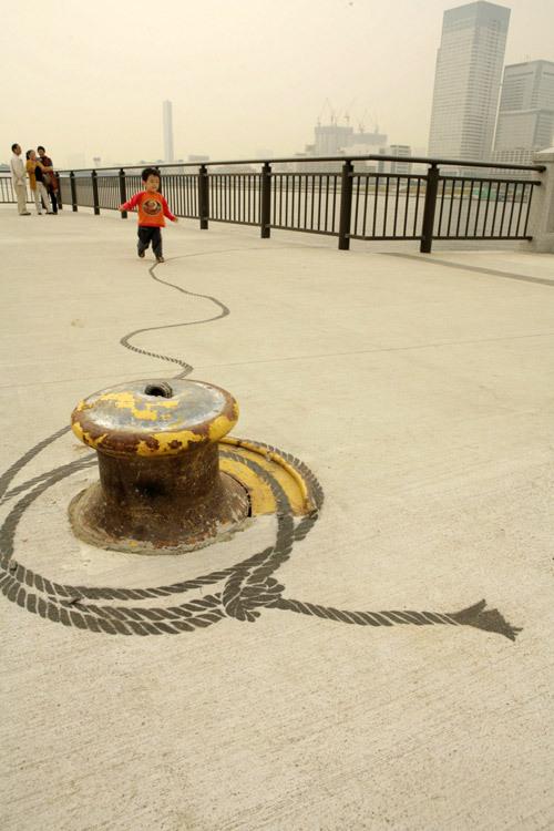 东京丰州LaLaport码头休闲区景观设计_18