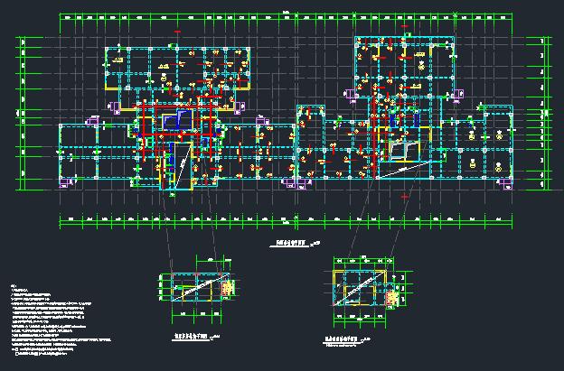 地上22层地下4层桩基础框架剪力墙住宅楼结构施工图_6