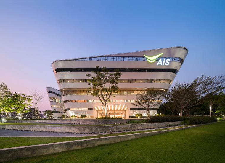 泰国圆锥形AIS联络中心-7