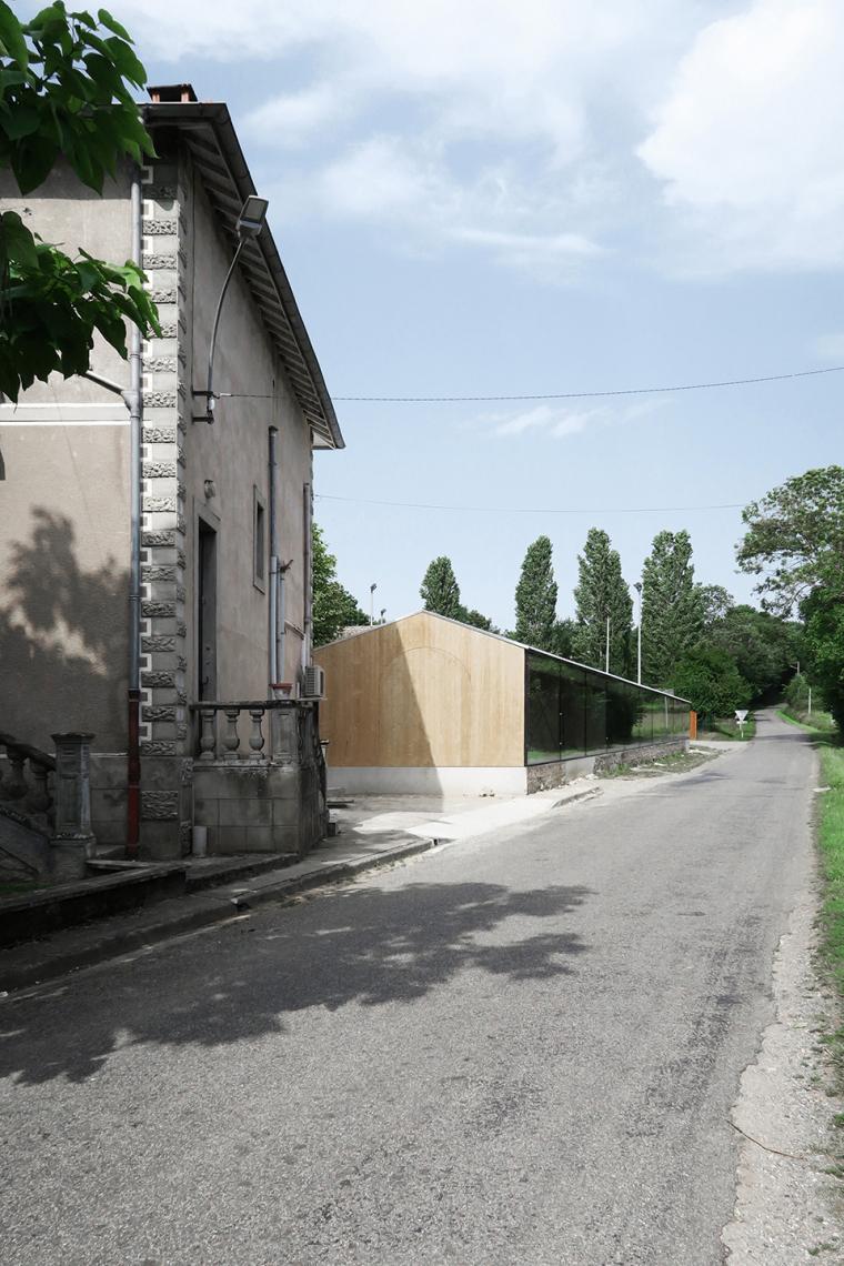 法国简洁木结构的学校食堂扩建-4
