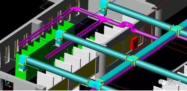 暖通设计施工必备的常识:水暖电管线综合排布的规则