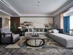 沙发背景墙,最美不过新中式