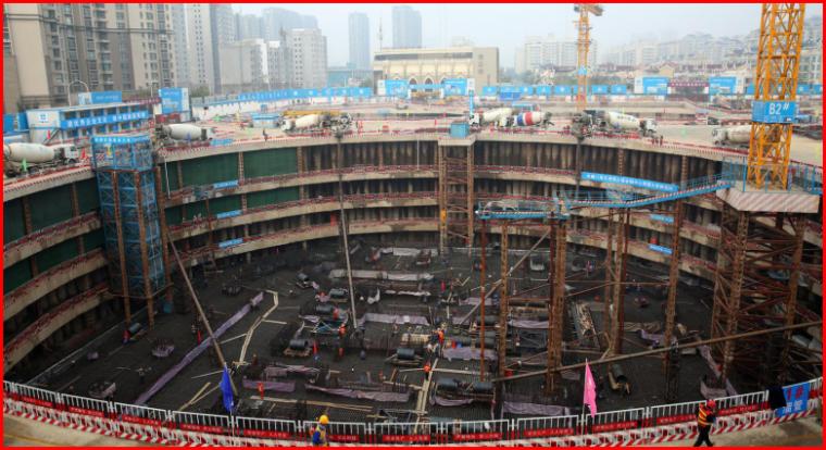 超厚大体量底板混凝土快速浇筑施工技术创新