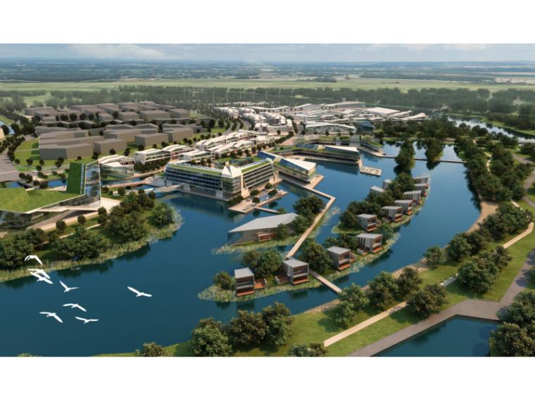[江苏]花桥国际商务城滨江区域景观设计(自然,生态)