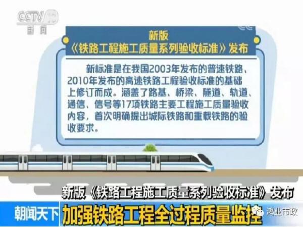 新版《铁路工程施工质量系列验收标准》将于明年2月实施-Snap21