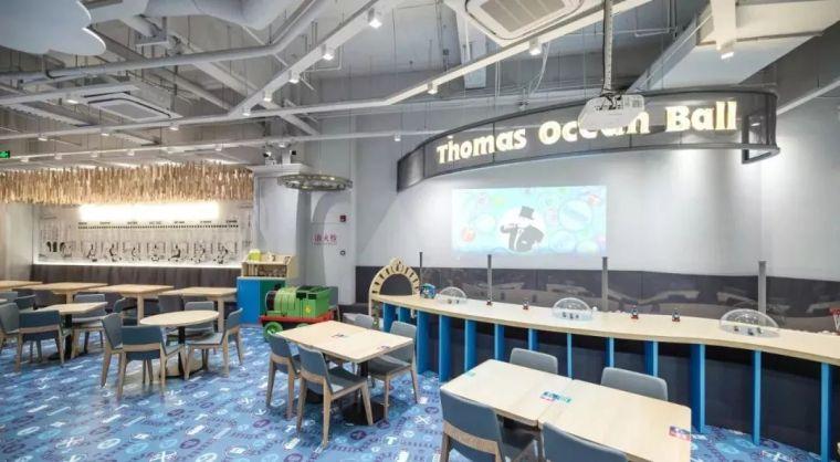 全球首家托马斯主题亲子餐厅落户魔都,把餐厅变成孩子们的小火车