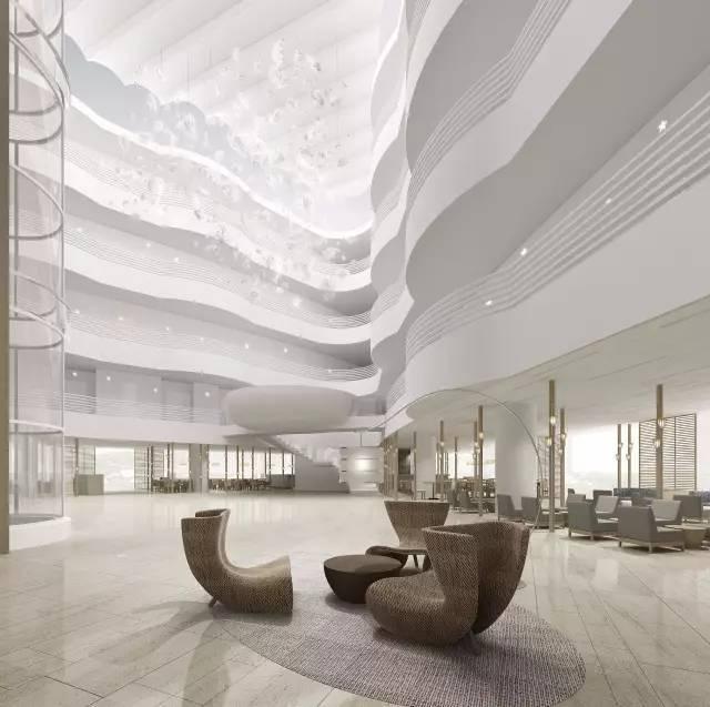 新中式酒店大堂,这样的设计才高逼格!