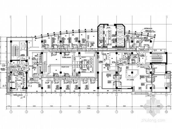 医院病房楼净化空调通风系统设计施工图