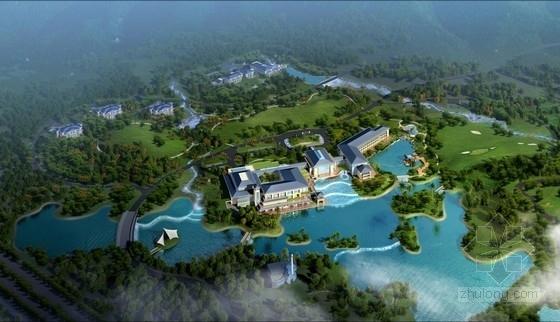 [安徽]汉代园林式五星级宾馆建筑设计方案文本