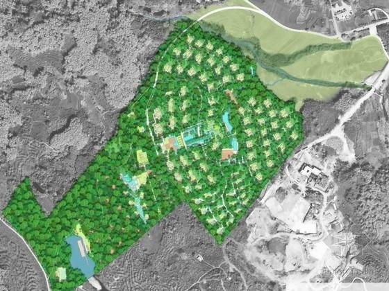 [海南]著名风景区热带温泉度假酒店景观规划设计方案(知名设计所)