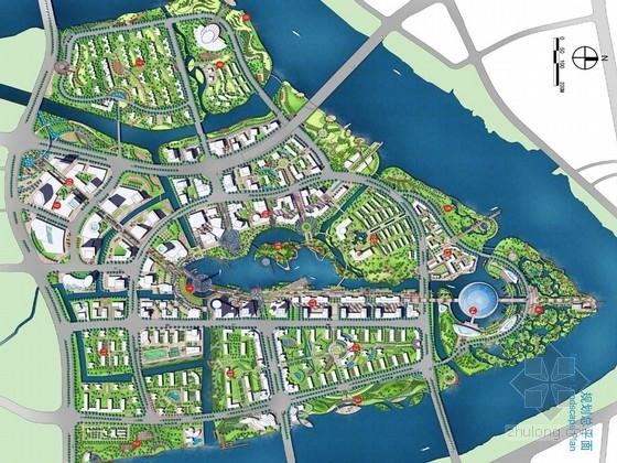 [浙江]水动新城公共空间景观修建性设计方案(知名设计)