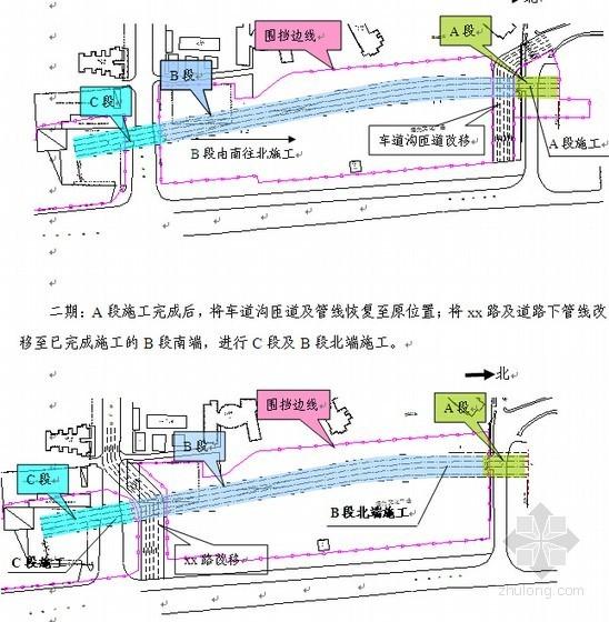 [北京]地铁明挖顺做法深基坑施工方案