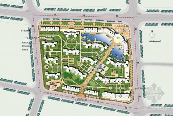 住宅设计的总平面图有哪些?