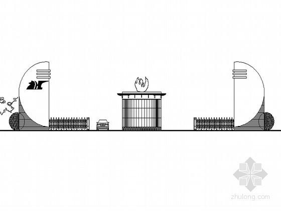[新疆]某药厂门房建筑设计方案
