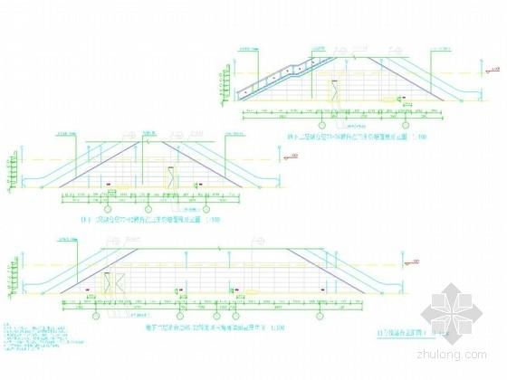 [广东]地铁地下二层换乘站站台层公共区装修设计图纸51张