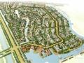 [上海]沿河地块江南古镇别墅住宅区规划设计方案文本