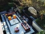 中式豪宅的庭院石材设计