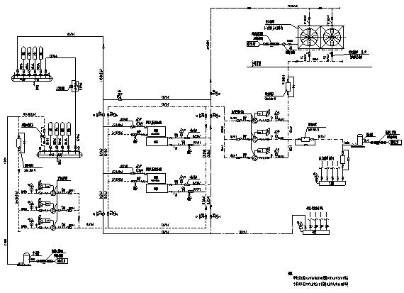 五层办公大楼暖通空调施工图