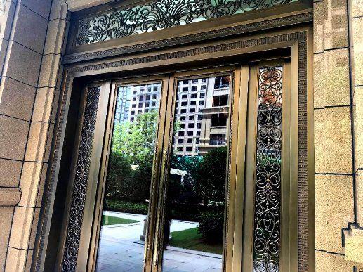 为什么可视对讲门口机立柱供应商的产品与建筑不搭?