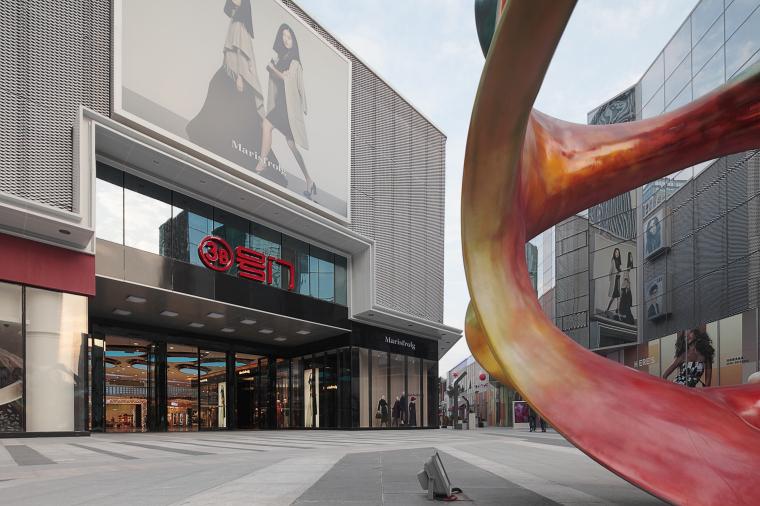 万达广场购物中心室内设计施工图(附效果图)-1 (4)