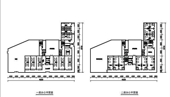现代风格顶级生态豪华超高层住宅及高层住宅建筑平面图