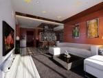 简约客餐厅3D模型下载