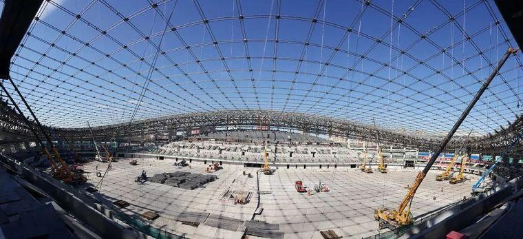 结构|世界体育场馆中规模最大的屋面索网结构——国家速滑馆索网