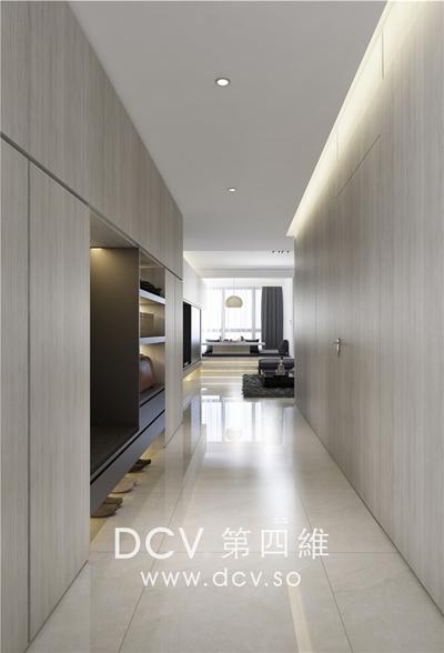 西安口碑最好的极简平层别墅设计-紫汀苑_3