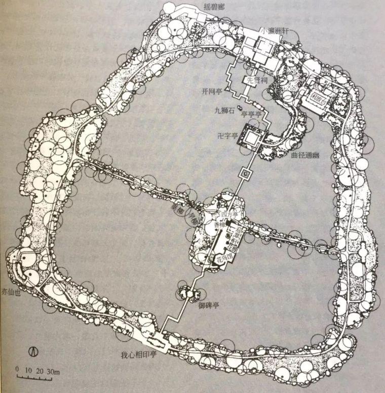 设计干货丨南方实习苏杭经典园林平面图_15