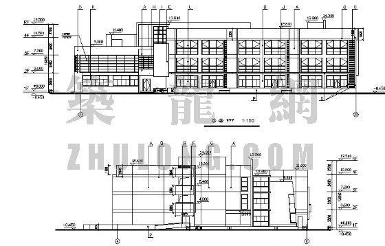 幼儿园建筑施工图-3