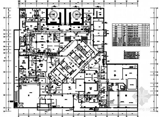 [浙江]医院综合楼空调水管设计施工图