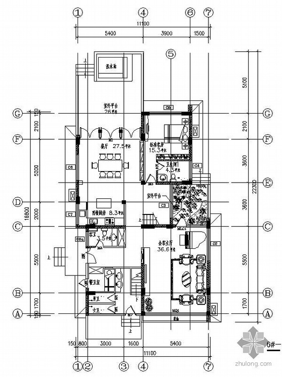 三层欧式豪华别墅装饰图(含效果)