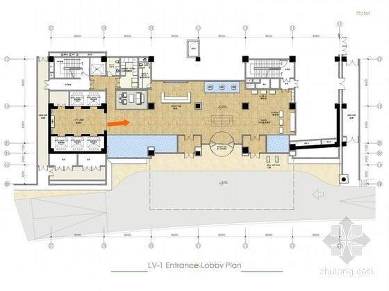 [山东]中式奢华高档酒店室内方案设计图