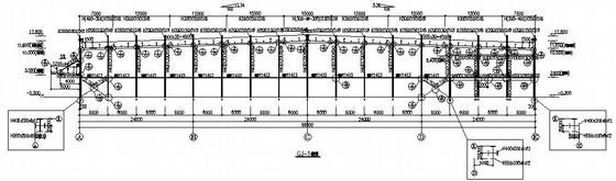 局部夹层施工图资料下载-局部三层门式刚架厂房结构施工图