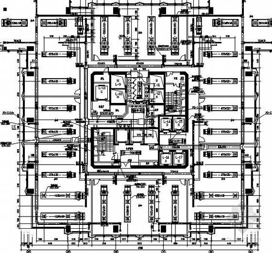 [江西]超高层商业综合体暖通空调及防排烟设计施工图(含自动控制系统)