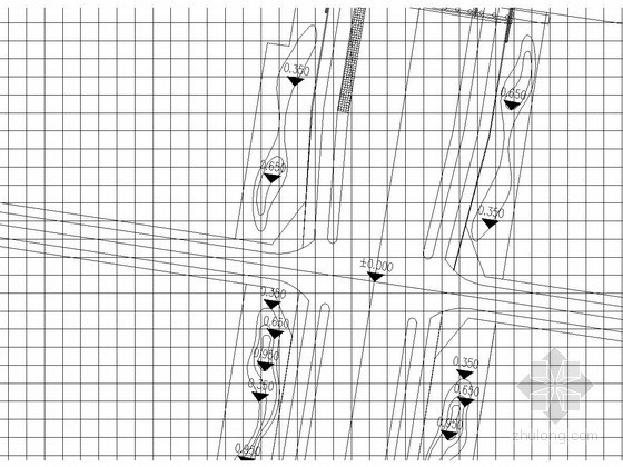 市政公路平面布置及绿化布置设计图(CAD)