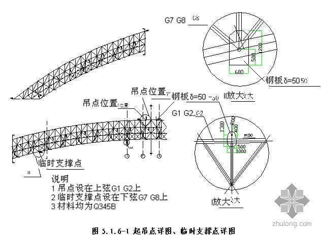 重型对称钢结构地面拼装、液压提升、水平滑移安装施工工法